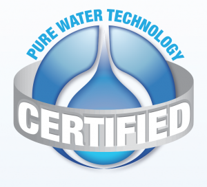 pure water certified logo