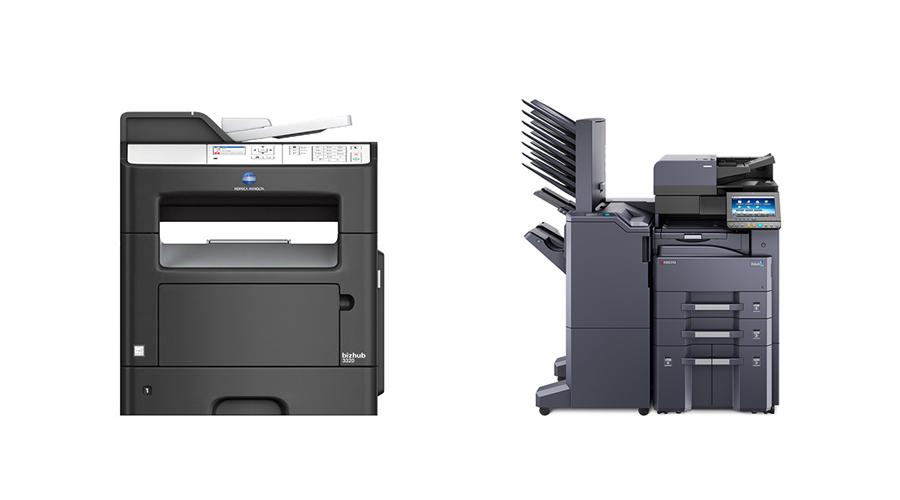 office copier konica minolta and kyocera models