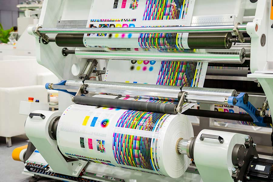 An industrial printer/copier, leasing which would be more cost-effective than buying one