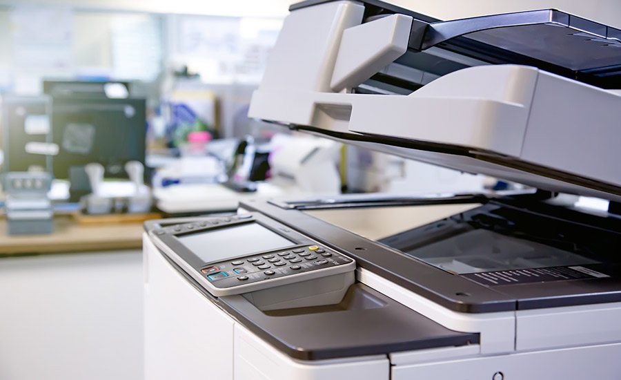 Managed print solutions: Copiers